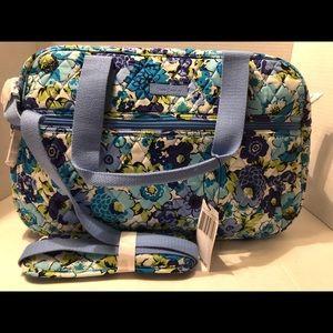 Vera Bradley Blueberry Blossom Compact Traveler